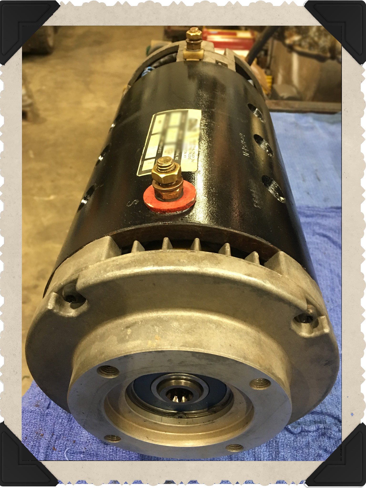 Baldor Electric Motor Repair Testing