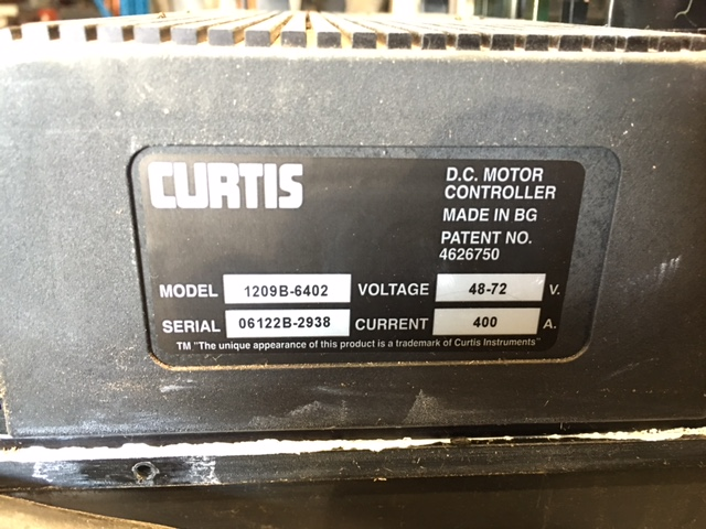 Curtis 1209b 6402 Motor Controller Package Mac And Mac